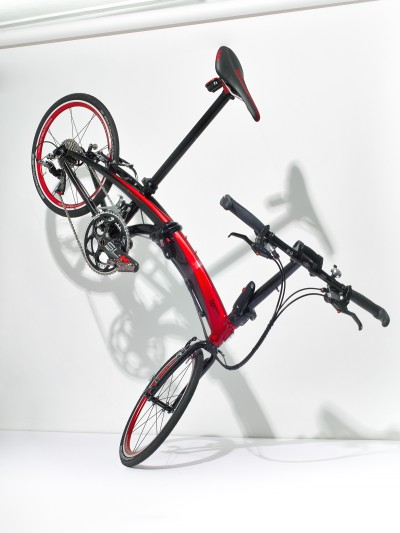 Folded Bicycle
